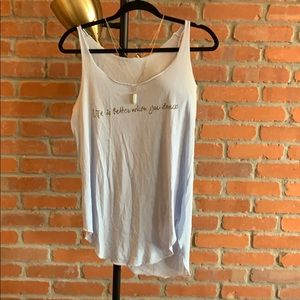 Tops - MNG quote tank